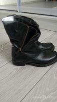 Ботинки натулальная кожа,осень