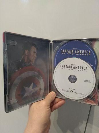 Film Capitan Ameryka blu rey 3D metalowe pudełko Poświętne - image 3