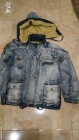 Модная джинсовая курточка
