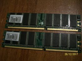 Оперативная память: DDR1, 256mb - 2 шт