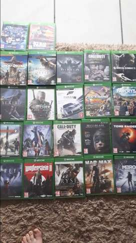 Xbox ONE and PS4 games for sale..