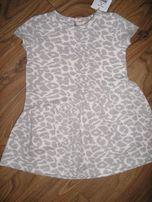 Sukienka reserved śliczna, ciepła r.86 - nowa