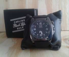 R600 Mens Black Watch Brand New with Gift Box