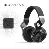 Новая версия Bluedio T2+ Беспроводные Bluetooth 5.0 наушники FM MP3 SD