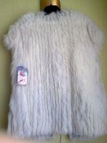Жилет женский (натуральный мех (аргентинская лисица)) Luxurious Fur