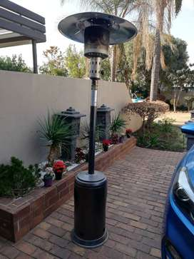 2x Outdoor gas heaters for sale
