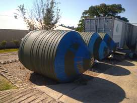 5000 litre Silo chemical storage tanks with stands