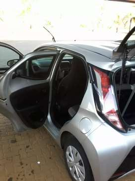 Am selling a Toyota aygo 2016 model 1.2ltrs for 95,000