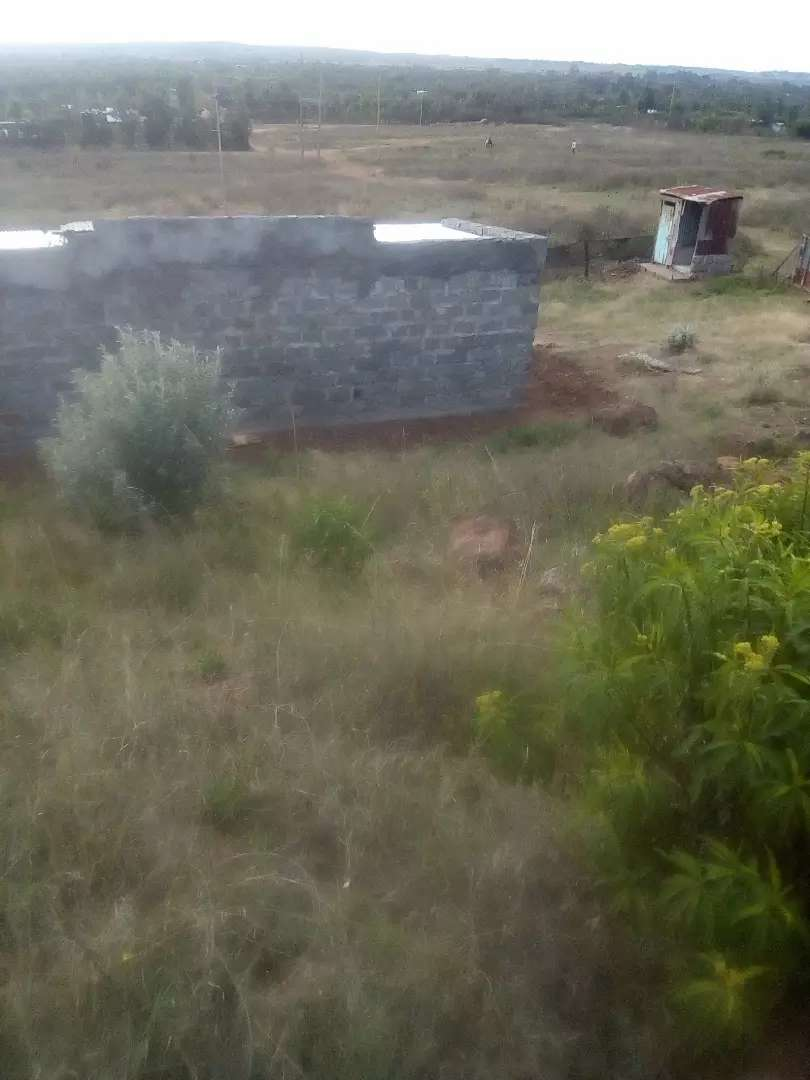 A shamba 0.315 hectares with two houses 0