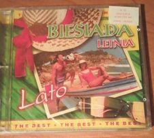 """""""Biesiada letnia-lato""""- płyta CD z 18 piosenkami, nowa, folia"""