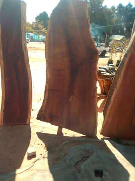 Natural wood furniture and wood slabs for sale