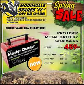 Pro User Metal Battery Chargers