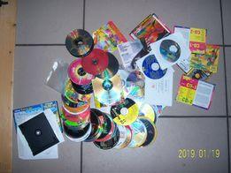 Płyty CD gry programy lata 95-00