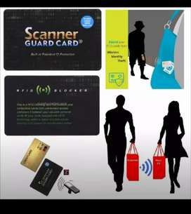 Scanner Guard Card – Protect your cards from RFID / contactless theft.