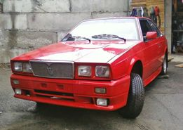 Maserati Biturbo 1985 г. / не на ходу / укр рег