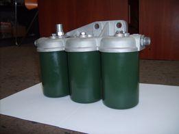 Filtr paliwa trzykomorowy kpl