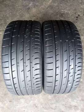 2 × 245/35/19 continental tyres for sale