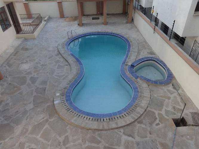 Executive 3 bR modern rental apartment with pool and jacuzzi ID 1241 0