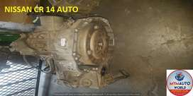 IMPORTED USED NISSAN CR 14 AUTOMATIC GEARBOX FOR SALE AT MYM AUTOWORLD
