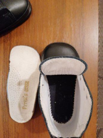 Италия. Фирменные кожаные ботиночки для малыша. 19р. Сумы - изображение 7