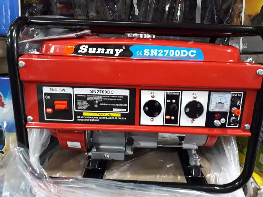 2700DC Sunny Pull Start generator for only R3600 free delivery 0