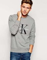 Мужской зимний теплый свитшот Calvin Klein