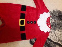 Новогодний костюм на малыша Санта