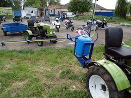 Оприскувач обприскувач на мотоблок трактор на 100 л. Навісний. Компл