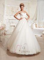 Свадебное платье Марселина + свадебная сумочка (дизайнер Ева Уткина)