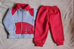Утепленный спортивный костюм 2-3