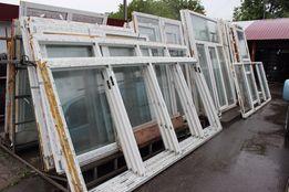 Металлопластиковые окна и двери, балконные рамы новые и б\у