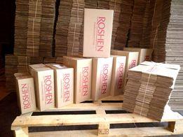 Коробки картонные от товара с логотипом.
