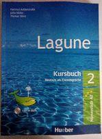 Książka do nauki języka niemieckiego Hueber Lagune 2