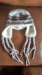 Шапка с косичками Loman зимняя утепленная женская, подростковая