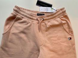 Tommy Hilfiger stylowe spodnie dresowe, dresy, pudrowy róż!