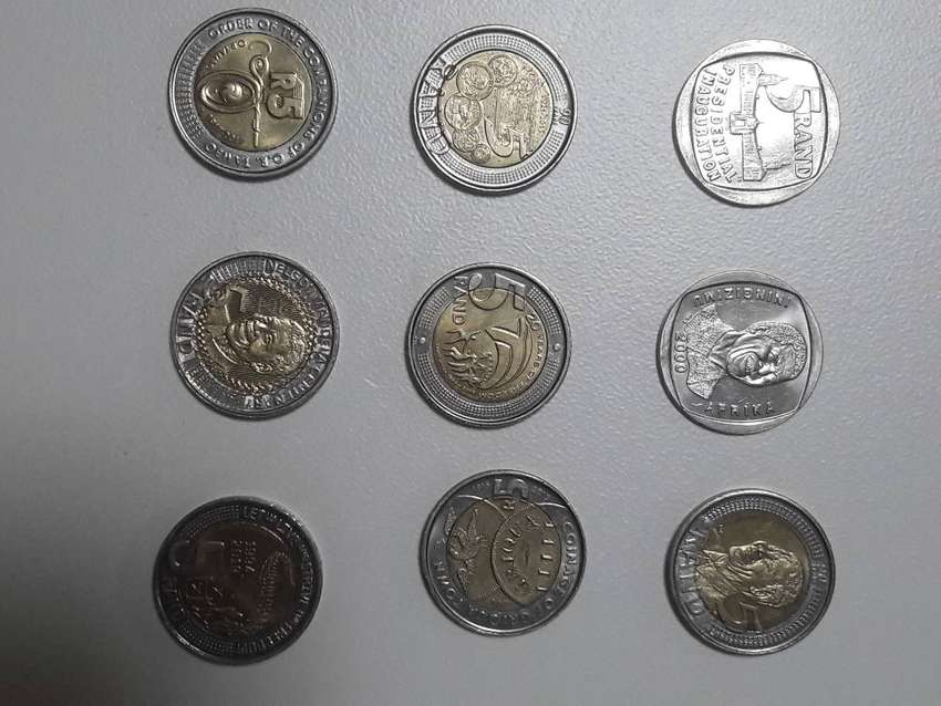 South African R5 Coins 0