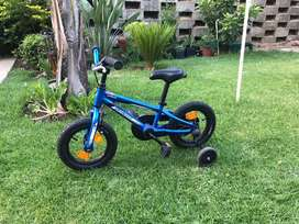 Specialised Hotrock childrens bicycle with trainer wheels