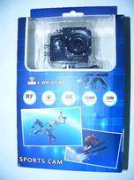 Видеокамера X21-V1-V3, 4K, WiFi. Аналог экщен камеры GoPro.