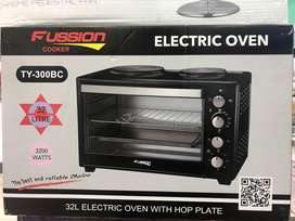 32L Electric Oven with 2x Plate