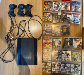GREAT DEAL - NEW PS3 + 21 GAMES - Sony PlayStation 3 Super Slim 50