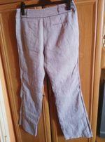 Spodnie lniane