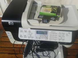 Color print, copy, scan, and fax Laser quality speed, up to 7 ppm Blac