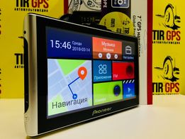 "PI 700W NEW 7""GPS навигатор RAM256 8gb IGO PRIMO truck 2018"