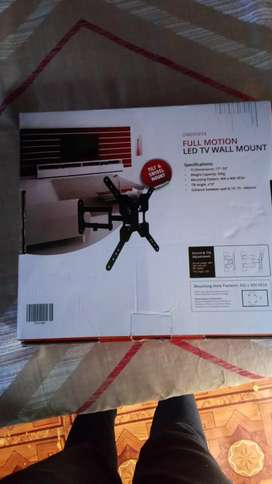 Unsed Full motion LED wall mount