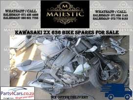 Kawasaki ZX 636 used spares for sale