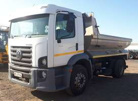 2009 VW 17-250 LWB EXEC - 6 CUBE TIPPER TRUCK FOR SALE