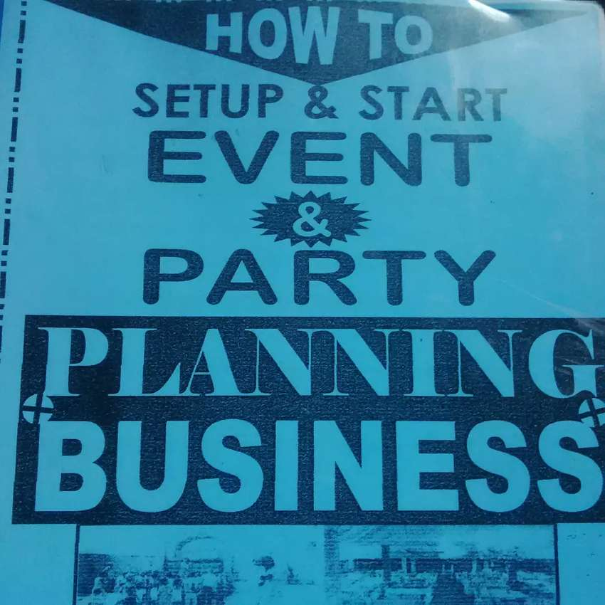 Manual on event and party planning business 0