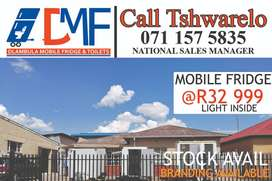 Mobile Fridge, Cold rooms and freezers for sale