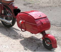 Одноколесный прицеп к мотоциклу. PAV40.