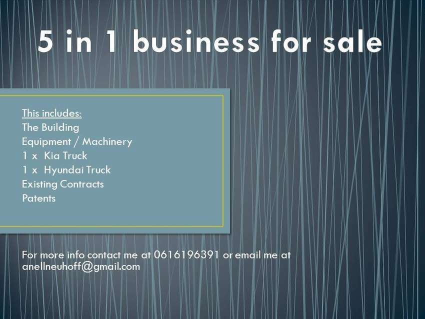 5 in 1 Business for sale 0